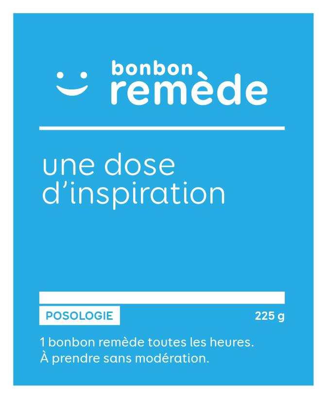 Une dose d'inspiration | Bonbon remède