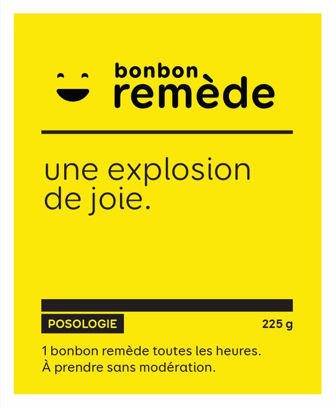 Une explosion de joie   Bonbon remède