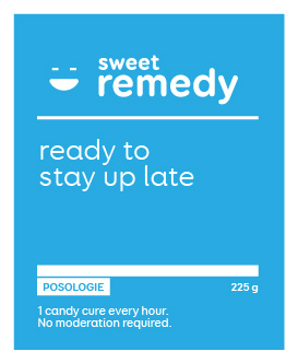 Ready to stay up late | Sweet remedy